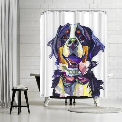 Solveig Studio Burmese Mountain Dog Shower Curtain