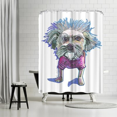 Solveig Studio Einstein Dog Bert Shower Curtain