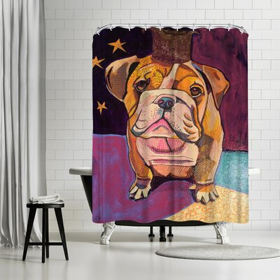 Solveig Studio English Bull Dog Shower Curtain