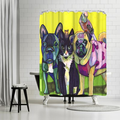 Solveig Studio Animals Shower Curtain