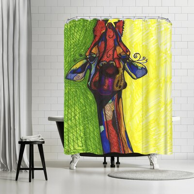 Solveig Studio Giraffe Shower Curtain