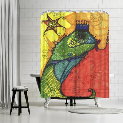 Solveig Studio Lizard Shower Curtain