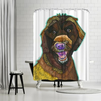 Solveig Studio Mary Maglio Cannon Shower Curtain