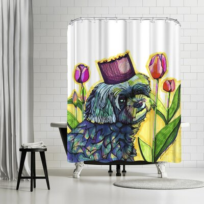 Solveig Studio Molly Dog Shower Curtain