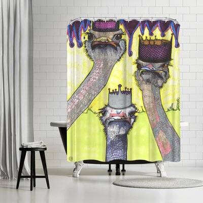 Solveig Studio Ostriches Shower Curtain