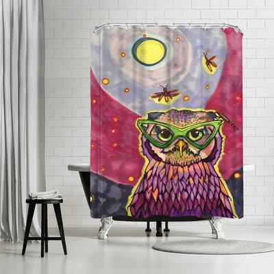 Solveig Studio Owl Dr Sooz Hoot Shower Curtain