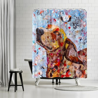Sunshine Taylor Dog Shower Curtain
