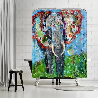 Sunshine Taylor Elephant Shower Curtain