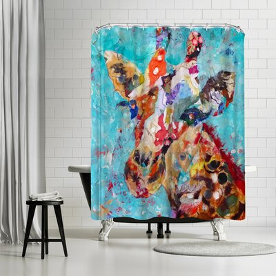 Sunshine Taylor Giraffe Shower Curtain