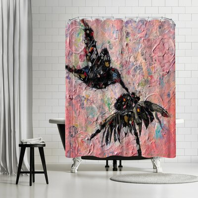 Sunshine Taylor Hummingbird Shower Curtain