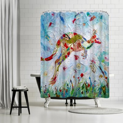 Sunshine Taylor Kangaroo Shower Curtain