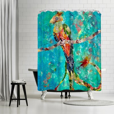 Sunshine Taylor Quetzal Shower Curtain