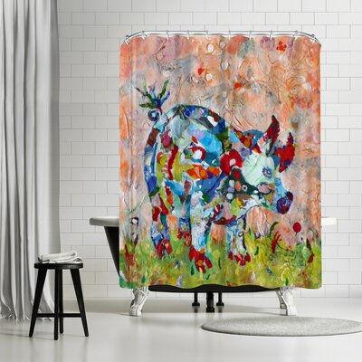 Adams Ale Sow Shower Curtain