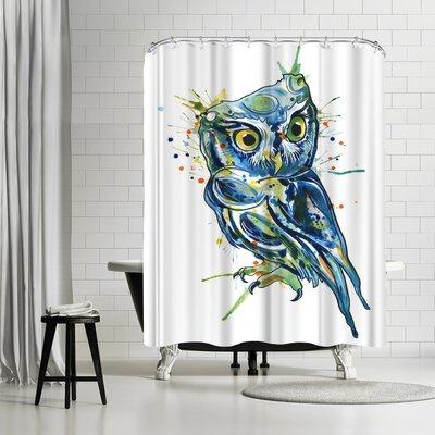 Adams Ale Owl Shower Curtain