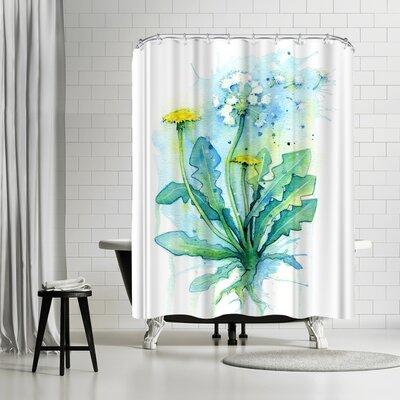 Adams Ale Dandelion Shower Curtain