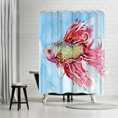 Solveig Studio Fish Swim Shower Curtain