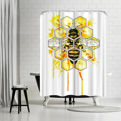 Solveig Studio Hive Mentality Shower Curtain