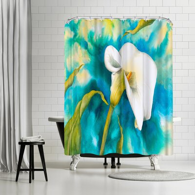 Sunshine Taylor Aglow Shower Curtain