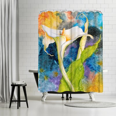 Sunshine Taylor Calla Cosmos Shower Curtain