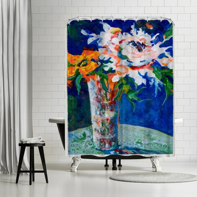 Sunshine Taylor Flowerpower Ii Shower Curtain
