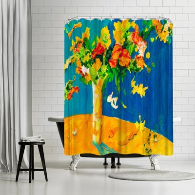 Sunshine Taylor Flowers Set Free Shower Curtain