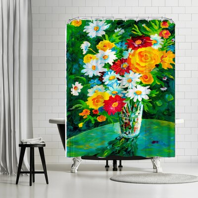 Sunshine Taylor Gardens Parklers Shower Curtain