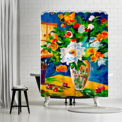 Sunshine Taylor Happy Go Lucky Shower Curtain