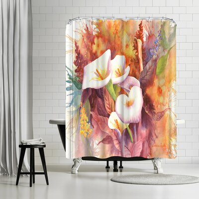 Sunshine Taylor Calla Dance Shower Curtain