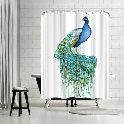 Solveig Studio Peacock Shower Curtain