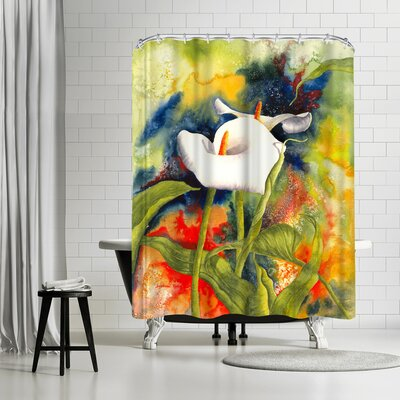Sunshine Taylor Calla Dream Shower Curtain