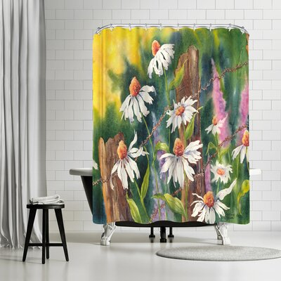 Sunshine Taylor Daisy Dance Shower Curtain