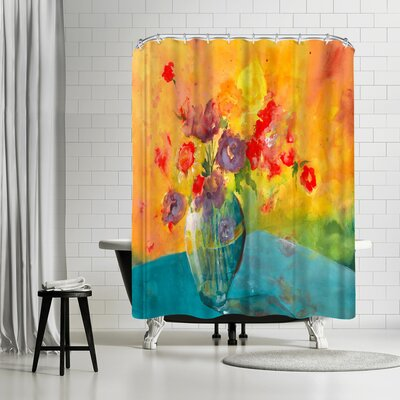 Sunshine Taylor Vase Shower Curtain