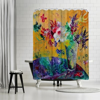 Sunshine Taylor Flowers of Joy Shower Curtain