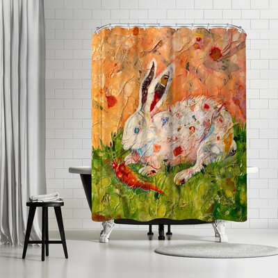 Sunshine Taylor Bunny Shower Curtain
