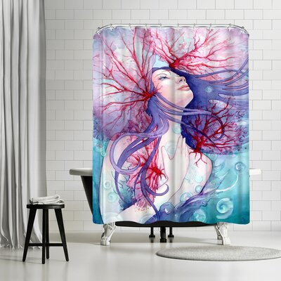 Sam Nagel Soul of the Siren Shower Curtain