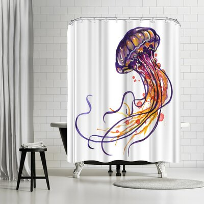 Sam Nagel Jellyfish Shower Curtain