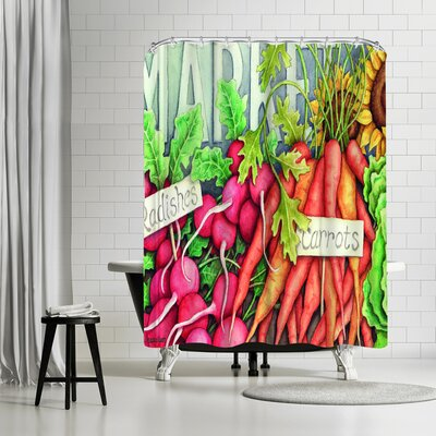 Three Mac Studio Market Shower Curtain