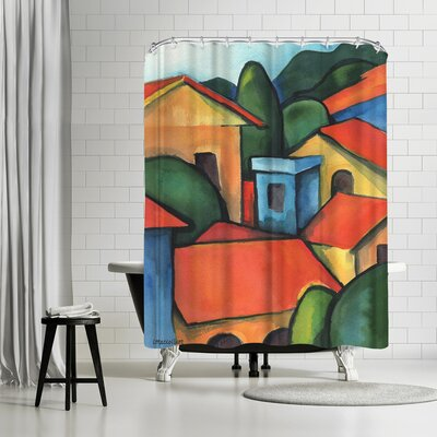 Three Mac Studio Peru Shower Curtain