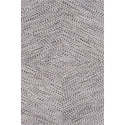 Celesse Hand Woven Cream/Taupe Area Rug Rug Size: Rectangle 8 x 10