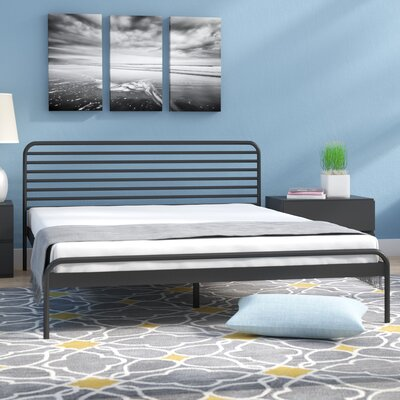 Metal Platform Bed Size: Queen