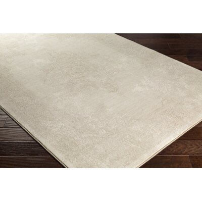 Pickrell Distressed Camel/Cream Area Rug Rug Size: Runner 27 x 71