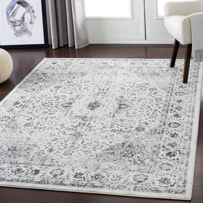 Maleisha Distressed Taupe/Gray Area Rug Rug Size: Rectangle 710 x 103