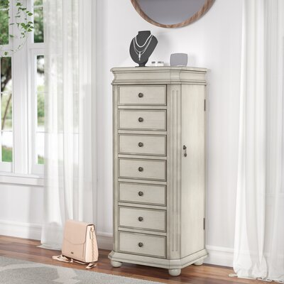 Rayane Free Standing Jewelry Armoire