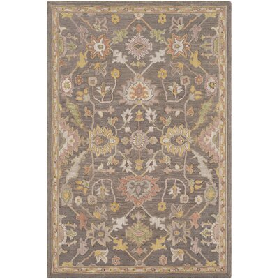 Greater Taree Hand Hooked Wool Camel/Olive Area Rug Rug Size: Rectangle 8 x 10