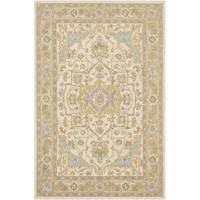 Greater Taree Hand Hooked Wool Olive/Butter Area Rug Rug Size: Rectangle 2 x 3