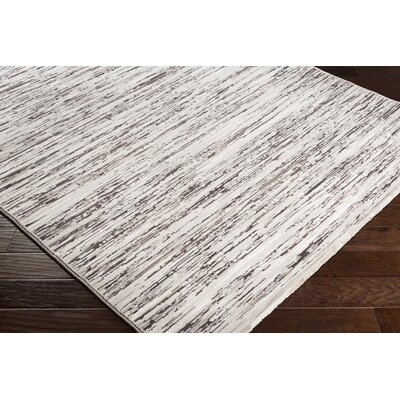 Chappel Modern Dark Brown/Taupe Area Rug Rug Size: Rectangle 2 x 3