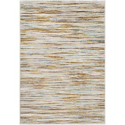 Chappel Modern Burnt Orange/Lime Area Rug Rug Size: Rectangle 5 x 8