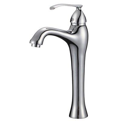 Traditional Single Hole Handle Bathroom Faucet Finish: Chrome