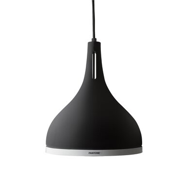 Castor 1-Light Inverted Pendant Shade Color: Black Beauty, Size: 11.4 H x 9.8 W x 9.8 D