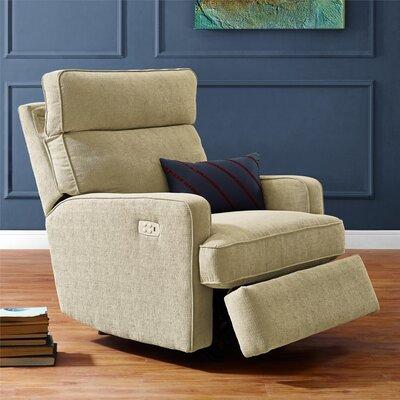 Enchanted Power Rocker Recliner Upholstery: Beige
